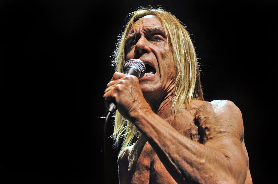 Iggy Pop & The Stooges at Hammersmith Apollo, 3 May 2010