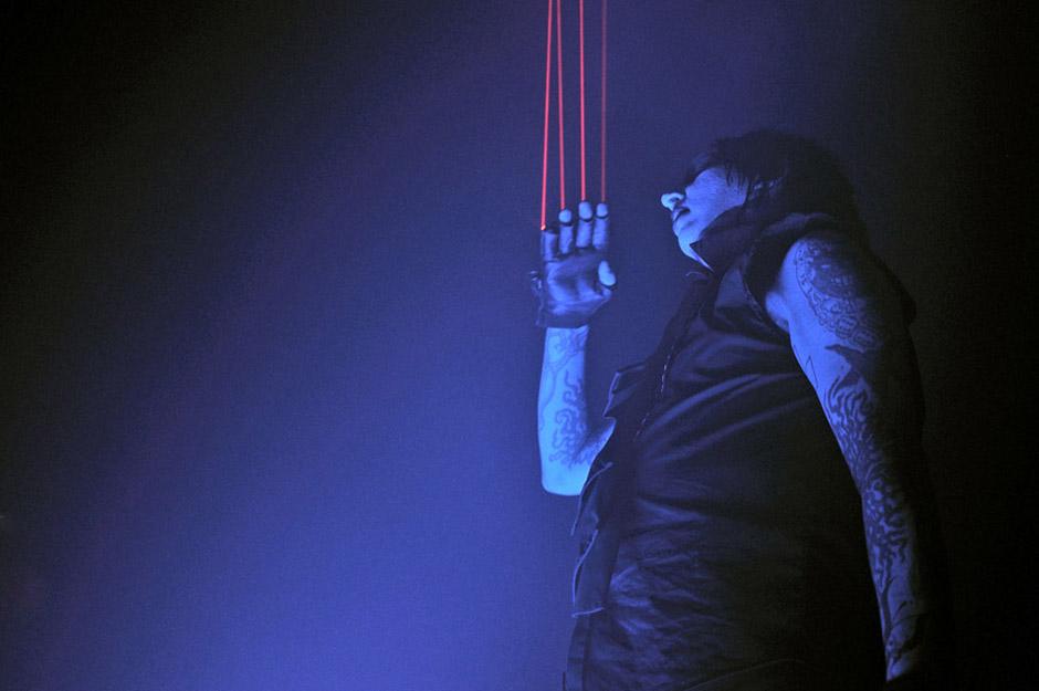 Marilyn Manson at Brixton Academy, 10 December 2009